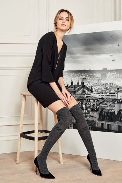 Philippe Matignon Verve Parisienne Over-knee Winter ranges / Strumpbyxor.com