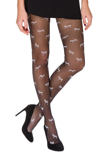 DIM Zebra Tights Fashion ranges / Strumpbyxor.com