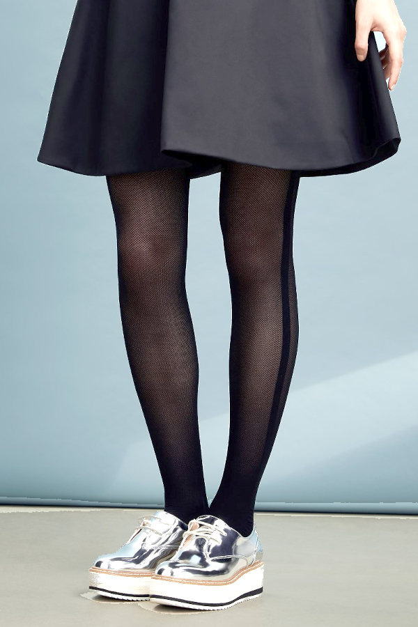 Vogue Side Stripe Tights Fashion ranges / Strumpbyxor.com