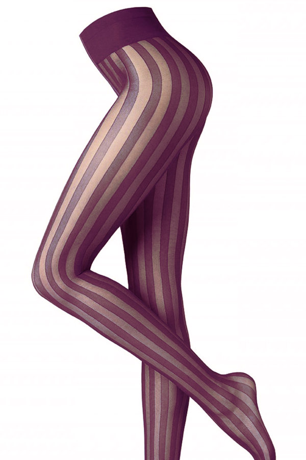 Oroblu Pinstripe Tights Fashion ranges / Strumpbyxor.com