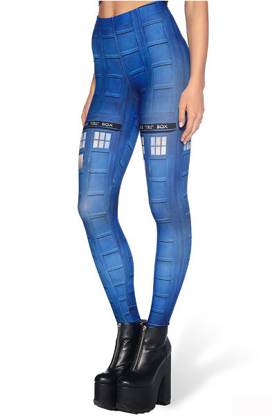 UL Tardis Leggings Fashion ranges / Strumpbyxor.com
